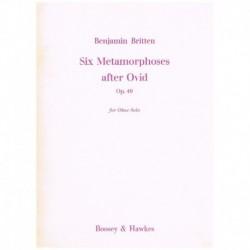 Britten. Six Metamorphoses After Ovid Op.49 (Oboe)