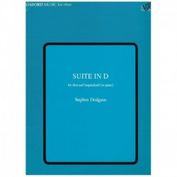 Dodgson, Ste Suite en Re (Oboe y Piano)