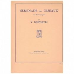 Desportes. Serenade des Oiseaux (Oboe y Piano)