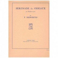 Desportes, Y Serenade des Oiseaux (Oboe y Piano)