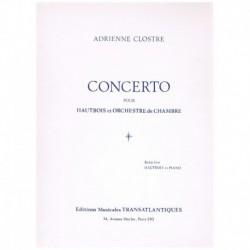 Clostre. Concierto (Oboe y Piano)
