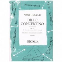 Ferrari. Idillio Concertino en La Mayor Op.15 (Oboe y Piano)