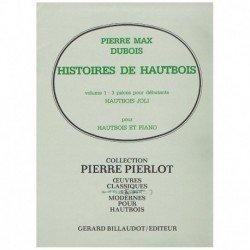 Dubois, Pier Historias de Oboe Vol.1. Hautbois Joli (Oboe y Piano)