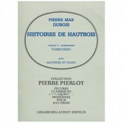 Dubois, Pier Historias de Oboe Vol.2. Tambourino (Oboe y Piano)
