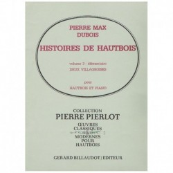 Dubois, Pier Historias de Oboe Vol.3. Deux Villageoises (Oboe y Piano)
