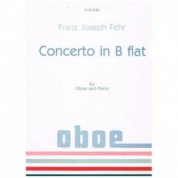 Fehr, Franz Concierto en Sib (Oboe y Piano)