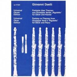 Daelli. Fantasia Sobre Temas de Rigoletto (Oboe y Piano)