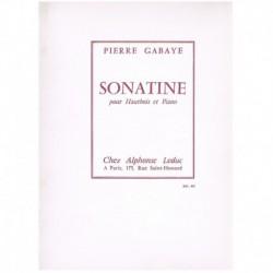 Gabaye. Sonatina para Oboe y Piano
