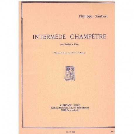 Gaubert, Phi Intermedio Campestre (Oboe y Piano)