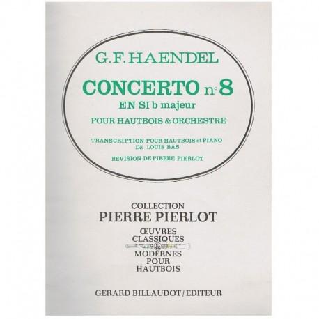 Haendel, G.F Concierto Nº8 Sib Mayor (Oboe y Piano)