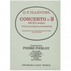 Haendel, G.F Concierto Nº9 Sib Mayor (Oboe y Piano)