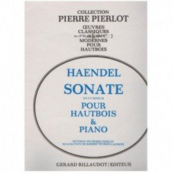 Haendel, G.F Sonata en Do menor (Oboe y Piano)