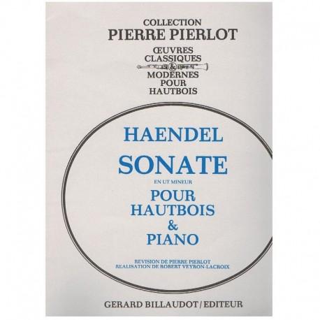 Haendel, G.F Sonata en Do menor (Oboe y Piano)