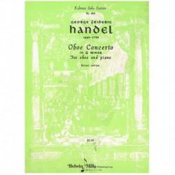 Haendel. Concierto en Sol menor (Oboe y Piano)