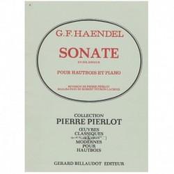 Haendel, G.F Sonata en Sol menor (Oboe y Piano)