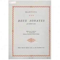 Haendel. 2 Sonatas (Oboe y Piano)