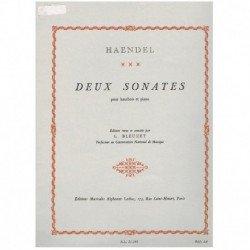 Haendel, G.F 2 Sonatas (Oboe y Piano)