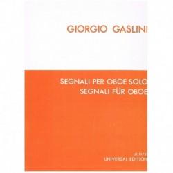 Gaslini. Segnali per Oboe Solo