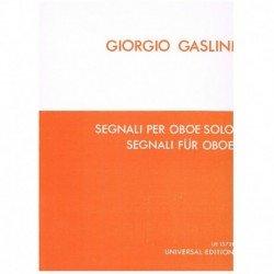 Gaslini, Gio Segnali per Oboe Solo