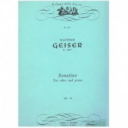 Geiser, Walt Sonatina Op.38 (Oboe y Piano)