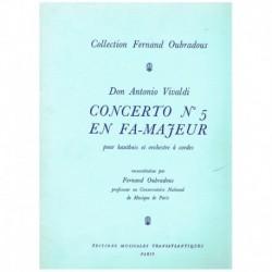 Vivaldi. Concierto Nº5 Fa Mayor (Oboe y Piano)