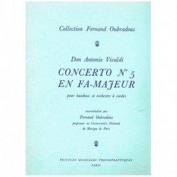 Vivaldi, Ant Concierto Nº5...