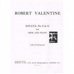 Valentine, R Sonata Nº8 en...