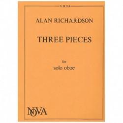 Richardson. Tres Piezas...