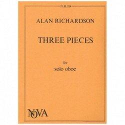 Richardson,  Tres Piezas...