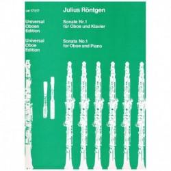 Rontgen, Jul Sonata Nº1...