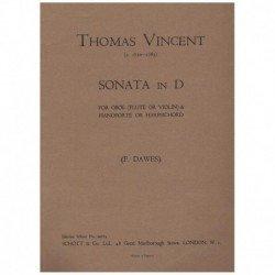 Vincent, Tho Sonata en Re...