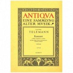 Telemann. Concierto Do...