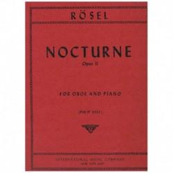 Rosel. Nocturno Op.11 (Oboe...