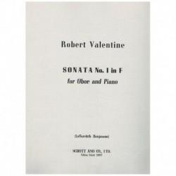 Valentine. Sonata Nº1 en Fa...