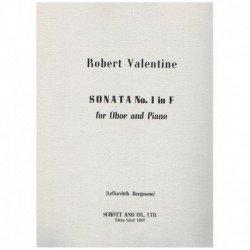Valentine, R Sonata Nº1 en...