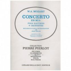 Mozart. Concierto en Mib (Oboe y Piano)