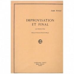 Rivier, Jean Improvisation...