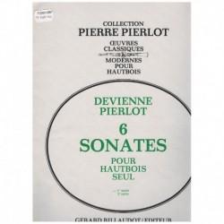 Pierlot. 6 Sonatas para Oboe Solo Vol.1