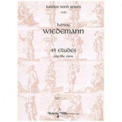 Wiedemann, L 45 Estudios...