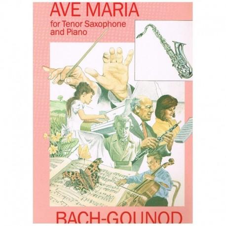 Bach/Gounod. Ave Maria (Saxofon Tenor y Piano)