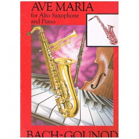 Bach/Gounod. Ave Maria (Saxofon Alto y Piano)