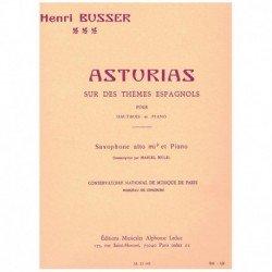 Busser. Asturias (Saxofon...
