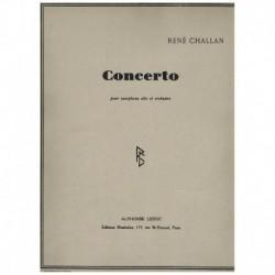 Challan, Ren Concierto (Saxofon Alto y Piano)