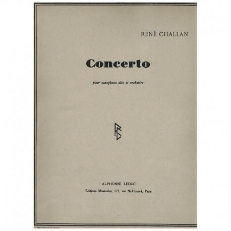 Challan. Concierto (Saxofon Alto y Piano)