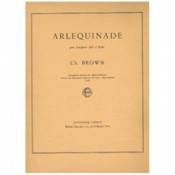 Brown. Arlequinade (Saxofon...