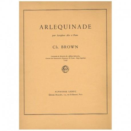 Brown, Charl Arlequinade (Saxofon Alto y Piano)