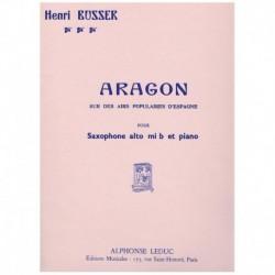 Busser. Aragon (Saxofon Alto y Piano)
