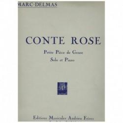 Delmas, Marc Conte Rose (Saxofon Alto y Piano)