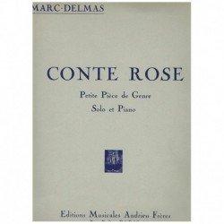 Delmas. Conte Rose (Saxofon...