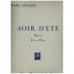 Delmas, Marc Soir D'Ete (Saxofon Alto y Piano)